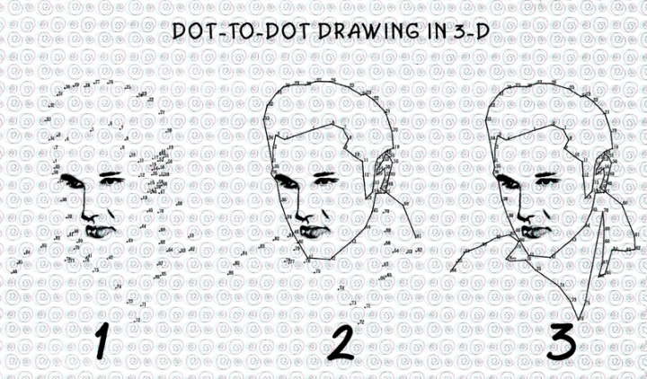 3D-Dot to Dot-Elvis