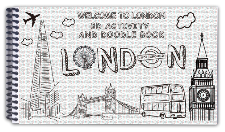 london-3d-activity-book-cover