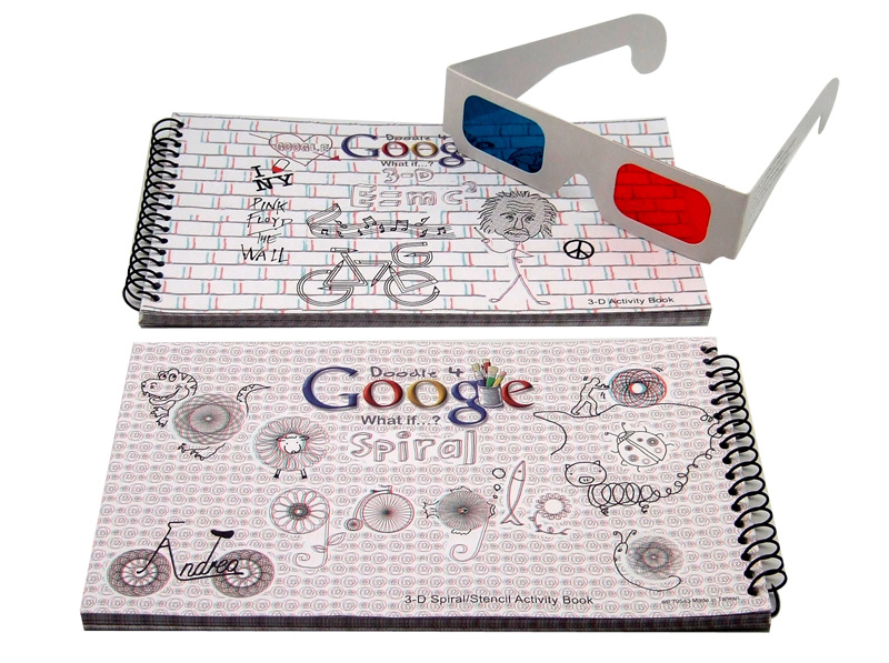 Notebook 3D Glasses