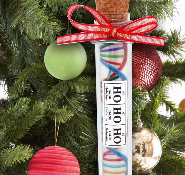 Medical Themed Christmas Ornaments : Chemis tree dna test tube ornament primex innovations inc