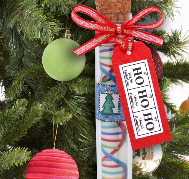 Medical Christmas Tree: Chemis-tree DNA Test Tube Ornament
