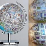 Chicago city Globe