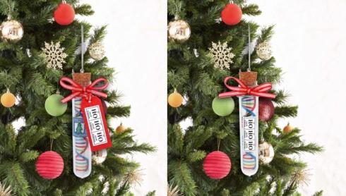 Test Tube Ornament+XMAS TREE1